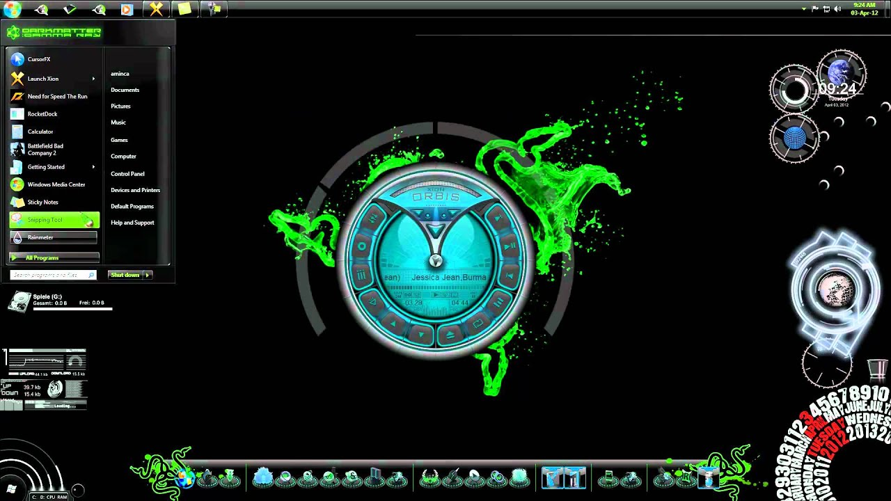 Google themes razer