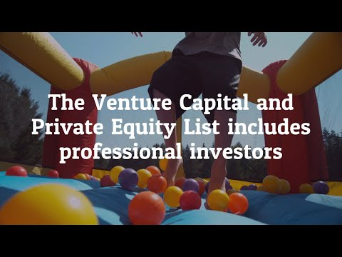 Get customized Venture Capital and Private Equity Executives Mailing list