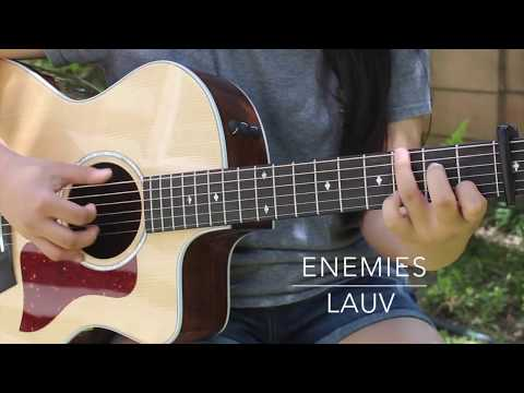 Enemies - Lauv - Fingerstyle Guitar Cover (+ FREE TABS)