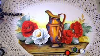 Aprenda a Pintar Rosa Virada – Fácil