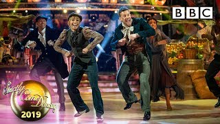 Chris and Karen Foxtrot to Consider Yourself - Week 11 Musicals | BBC Strictly 2019