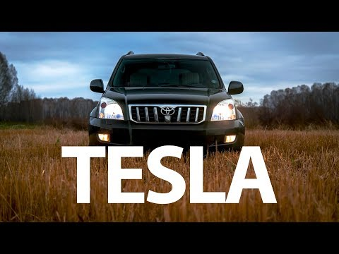 ШГУ - Мультимедийный центр в стиле Tesla на Lexus GX 470 и Toyota Prado 120