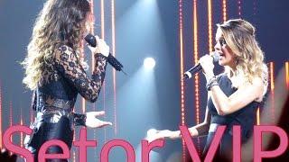 Setor VIP : : Paula Fernandes e Sandy cantam