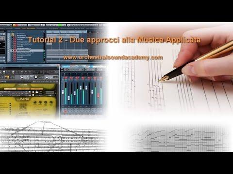 Tutorial 2 - Due approcci alla Musica Applicata -  Video Promo