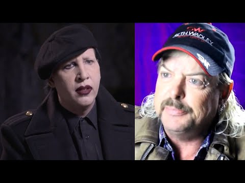 Marilyn Manson Reacts To Joe Exotic's Plea For Help From Him (Tiger King)