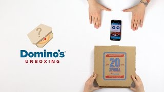 Domino's Unboxing: Νέα Burger Pizza και νέο Mac n Cheese Bread