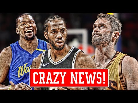 KAWHI LEONARD IS UNHAPPY! Kevin Love should be FURIOUS! Kevin Durant MADNESS | NBA News