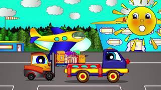 Маша и Пома  - Полёт на самолёте