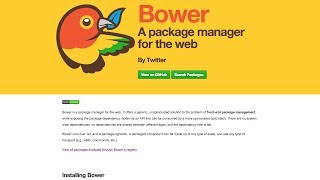 Setting up Bower and Polymer