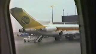 1983 Home Video Eastern Air Lines Chicago to Orlando pre-flight, takeoff, flight, and landing