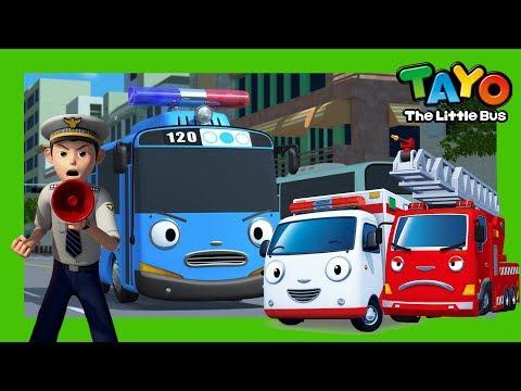 El envío de emergencia l Episodios Tayo l nuevo centro de emergencia y más l Tayo el pequeño Autobús
