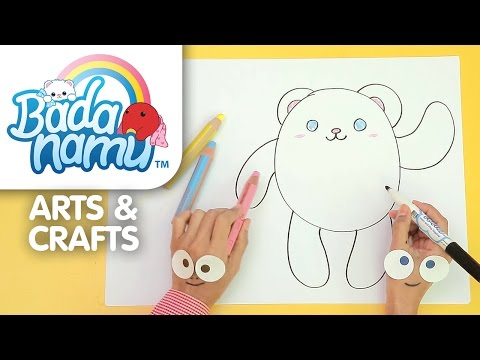 Badanamu Arts & Crafts EP1: Let's Draw Bada l Nursery Rhymes & Kids Songs