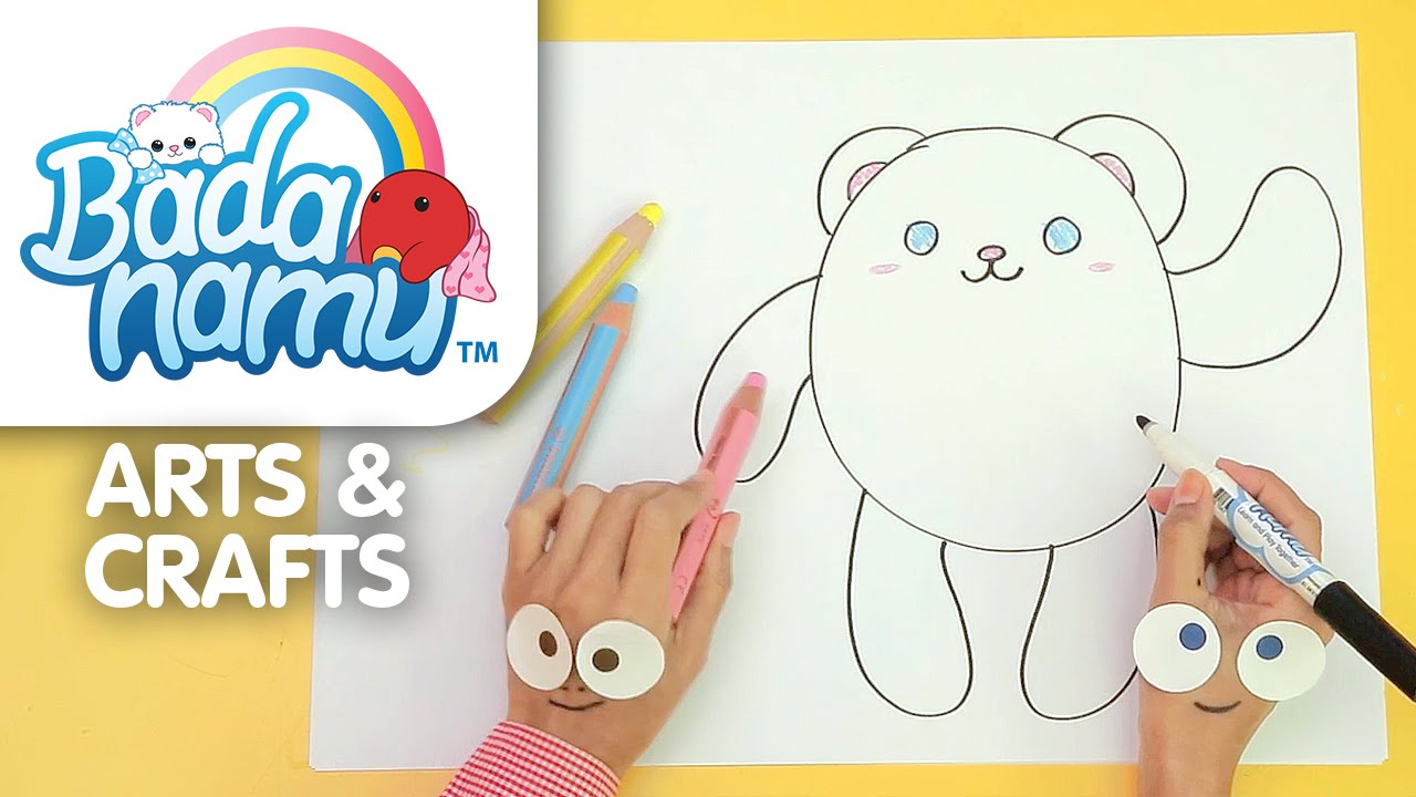 Download Badanamu Arts & Crafts EP1: Let's Draw Bada l Nursery Rhymes & Kids Songs