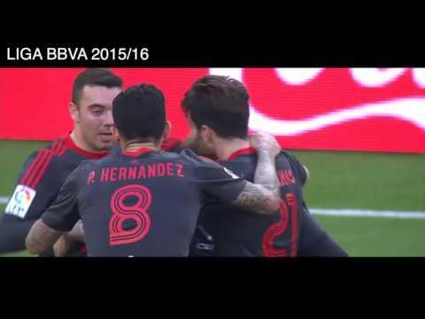 RCD Espanyol 1 - 1 Celta de Vigo, Goles y Resumen, LIGA BBVA 2016.