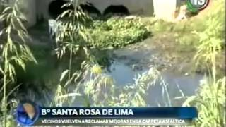 Vecinos barrio Santa Rosa de Lima
