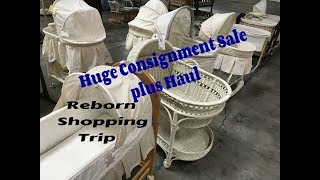 Huge Children's Consignment Sale! Reborn Baby Shopping! Plus Haul! Price Savings Revealed!