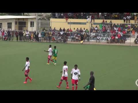 Highlights of Ghana Premier League - Wafa SC. Vs Aduana FC.