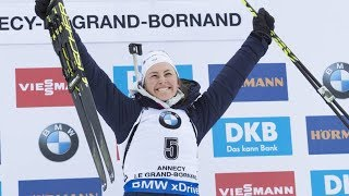 JUSTINE BRAISAZ - MASS-START LE GRAND BORNAND 2017 [INTÉGRAL]