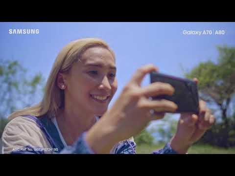 One Epic Day With The Samsung Galaxy A70 & Samsung A80