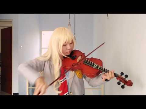 Sad song - we the kings (Miyazono kaori cosplay violin cover)