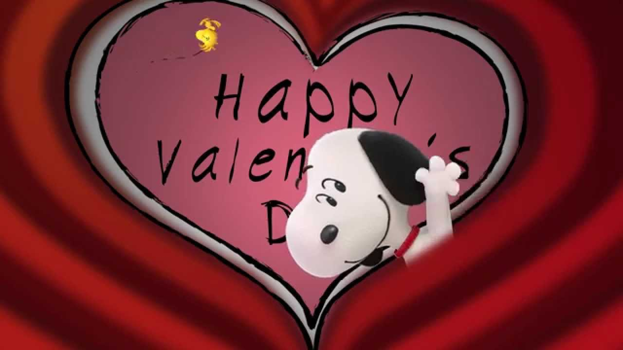 snoopy charlie brown the peanuts movie valentines day special - Charlie Brown Valentine Video