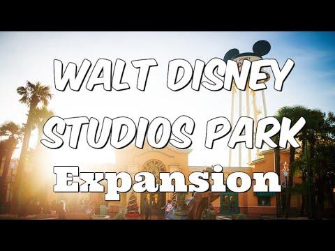 'Walt Disney Studios Park' In Paris Getting A Massive Expansion