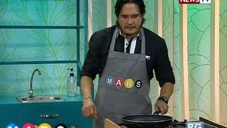 Mars Masarap: Roi Vinzon's Yummy Stir-fried Beef With Mushrooms