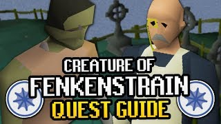Creature of Fenkenstrain OSRS Quest Guide 2019 (with Iroman Method)