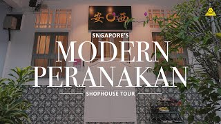 Take A Look At Sylvia's Modern Peranakan Home | Singapore Shophouse Tour