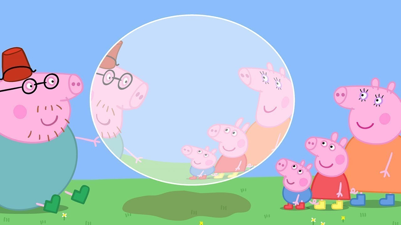 Peppa Pig en Español Episodios completos - Soplando burbujas con Peppa!   1 Hour - Pepa la cerdita