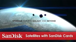 Satellites Deployed with SanDisk® microSD cards
