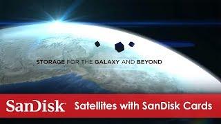 Satellites Deployed with SanDisk® microSD cards