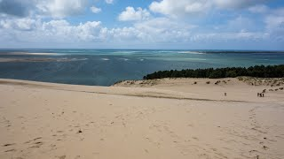 Visiting Dune of Pilat, The Sand dune in La Teste de Buch, The Arcachon Bay Area, France