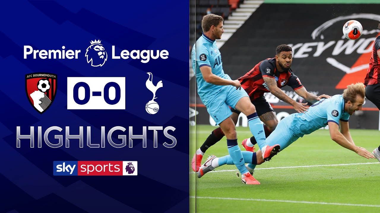 VAR denies Spurs penalty and late Cherries' goal! | Bournemouth 0-0 Tottenham | EPL Highlights
