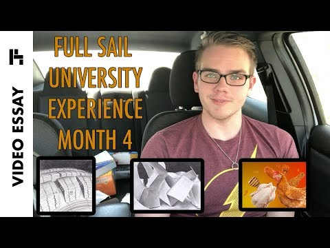 Full Sail Experience - Month 4 (Foundations of Art 1) - Video Essay