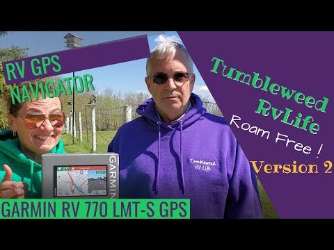 Garmin 770 RV GPS Review v.2 | Tumbleweed RV Life, Roam Free