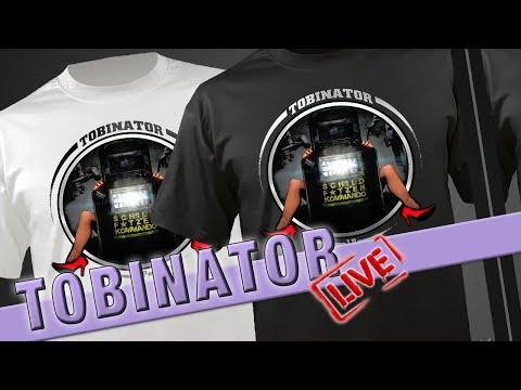 TOBINATOR LIVE #064   Tobinator Merchandise Preview   Twitch Stream Aufzeichnung