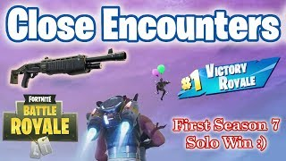 Shotguns Only in Close Encounters LTM - First Solo Win of Season 7 ^_^ - Live Gameplay Commentary