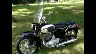 1966 Honda Benly Touring 150