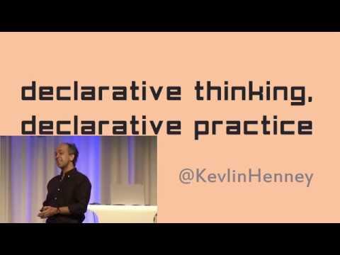 Declarative thinking, declarative practice - Kevlin Henney - Meeting C++ 2017