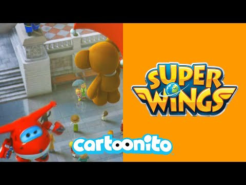 Super Wings   The Greatest Dance Number At The Trafalgar Square   Cartoonito UK