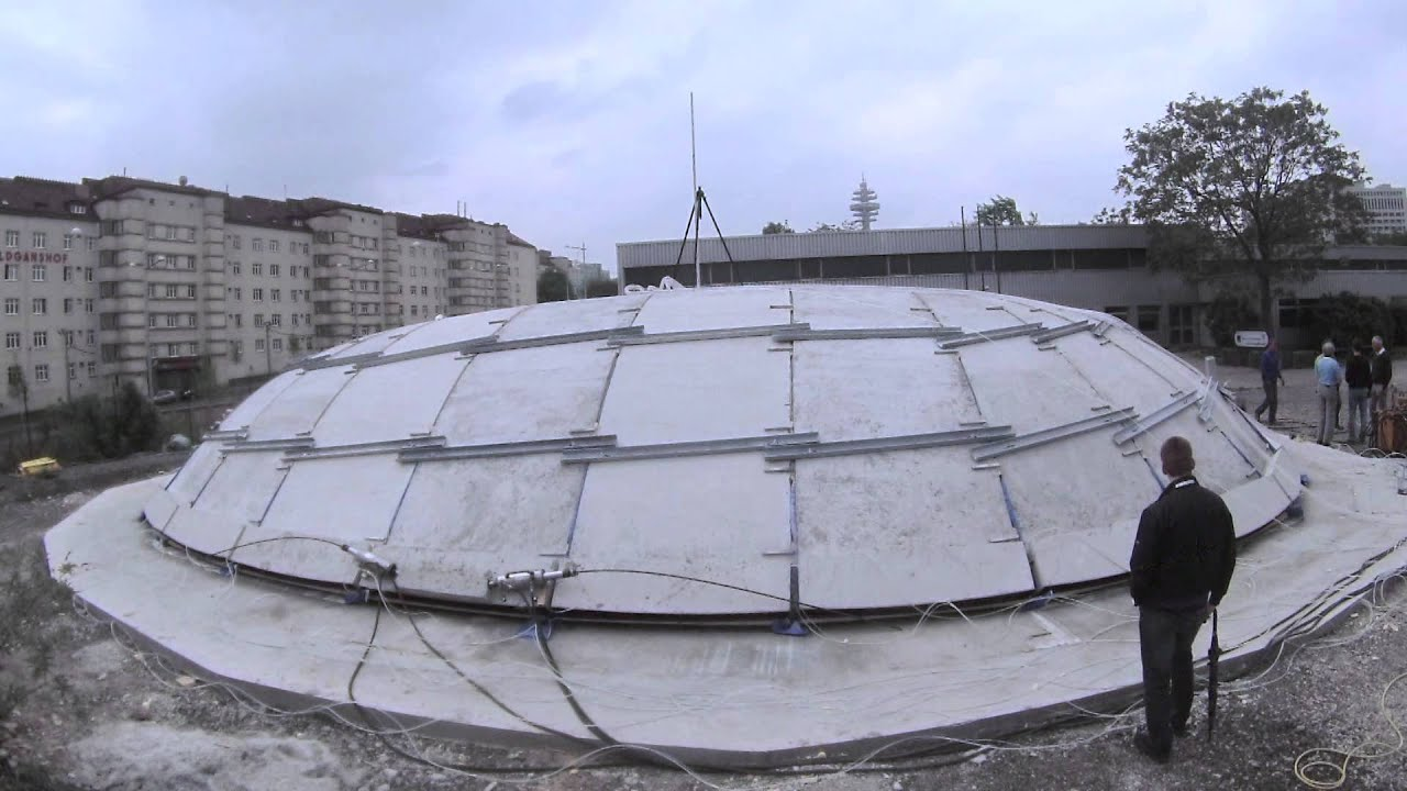 New construction technique allows concrete domes to be