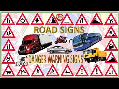 ROAD SIGNS - DANGER WARNING SIGNS
