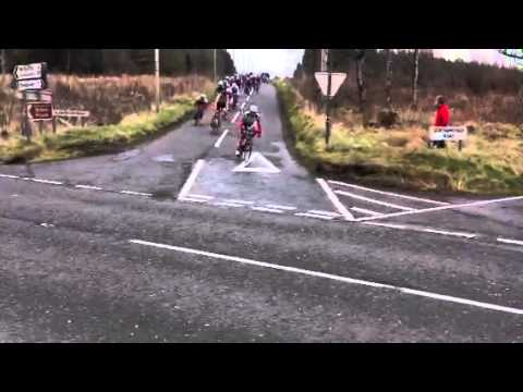 Tour of Ulster 2013 - Stage1 - Plantation Road Descent