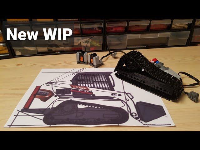 Building a Lego Bobcat T450 compact trackloader [1]