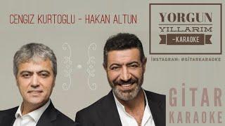 Yorgun Yıllarım - Karaoke (Cengiz Kurtoğlu & Hakan Altun) Video
