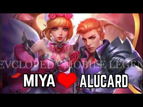 New Skin Valentine Miya And Alucard Best Couple Youtube