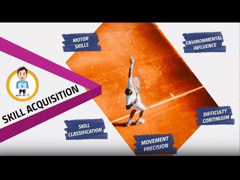 Skill Classification! What are discrete, serial, continuous, open, closed, fine & gross skills?