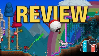 terraria review on Nintendo Switch