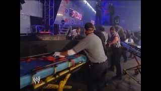 Jeff Hardy Swanton Bomb on Randy Orton Raw, 14 January, 2008